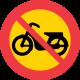 C11 Förbud mot trafik med moped klass II