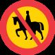 C14 Förbud mot ridning