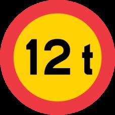 C20 Begränsad bruttovikt på fordon