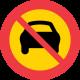 C4 Förbud mot trafik med motordrivet fordon med fler än två hjul