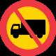 C7 Förbud mot trafik med tung lastbil