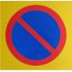 P-förbudsskylt - kantvikt