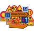 Plastvägmärken för vägarbete