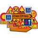 Plastvägmärken för vägarbete (39)