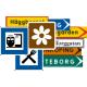 Lokaliseringsmärken - väg (67)