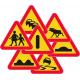 Varningsmärken (55)