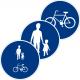 D4, D5, D6, D7 Påbjudna gång- och cykelbanor - Klicka för fler alternativ!
