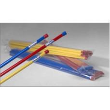 Rågångsstolpe, plåt/plast, 2000 mm