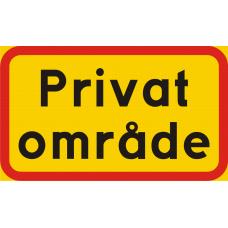Privat område
