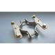 Dubbelklammer 48/60 mm för kantvikt skylt