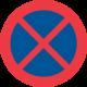 C39 - Plast - Förbud mot att stanna och parkera fordon