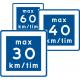 E11 - Plast - Rekommenderad lägre hastighet