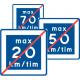 E12 - Plast - Rekommenderad lägre hastighet upphör