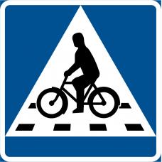 B8 Cykelöverfart