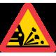 A11 - Plast - Varning för stenskott