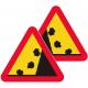 A12 Varning för stenras