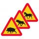 A19 Varning för djur - Klicka för fler alternativ!