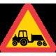 A31 Varning för långsamtgående fordon