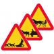 A32 Varning för fordon med förspänt dragdjur