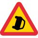 A41 - Plast - Varning för olycka