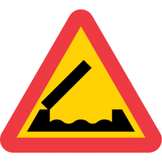 A6 Varning för öppningsbar bro