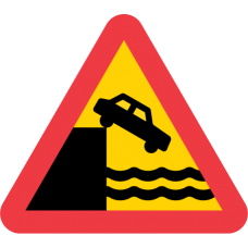 A7 Varning för kaj