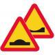 A9 Varning för farthinder